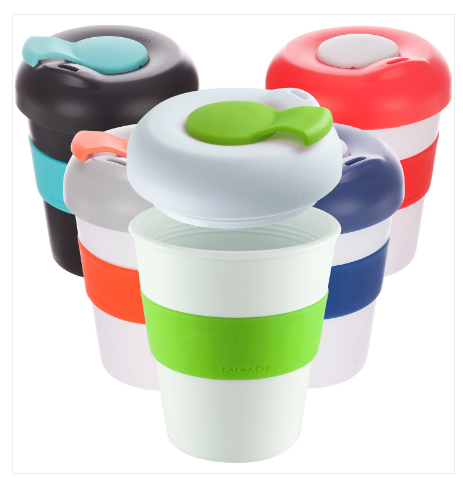 320ml Travel mug with non spill lid