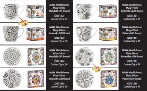 Mindfulness Cup and Plate Range