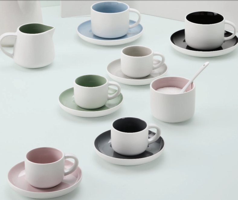 Tint Demi Cup and Saucer